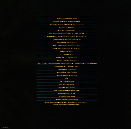 Rotations Album Back Cover