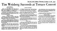 Terrace Concert 1976