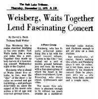 Weisberg Waits