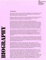A&M Biography Dreamspeaker, 1973