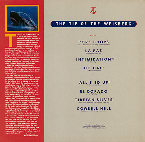 The Tip of the Weisberg Album 1979