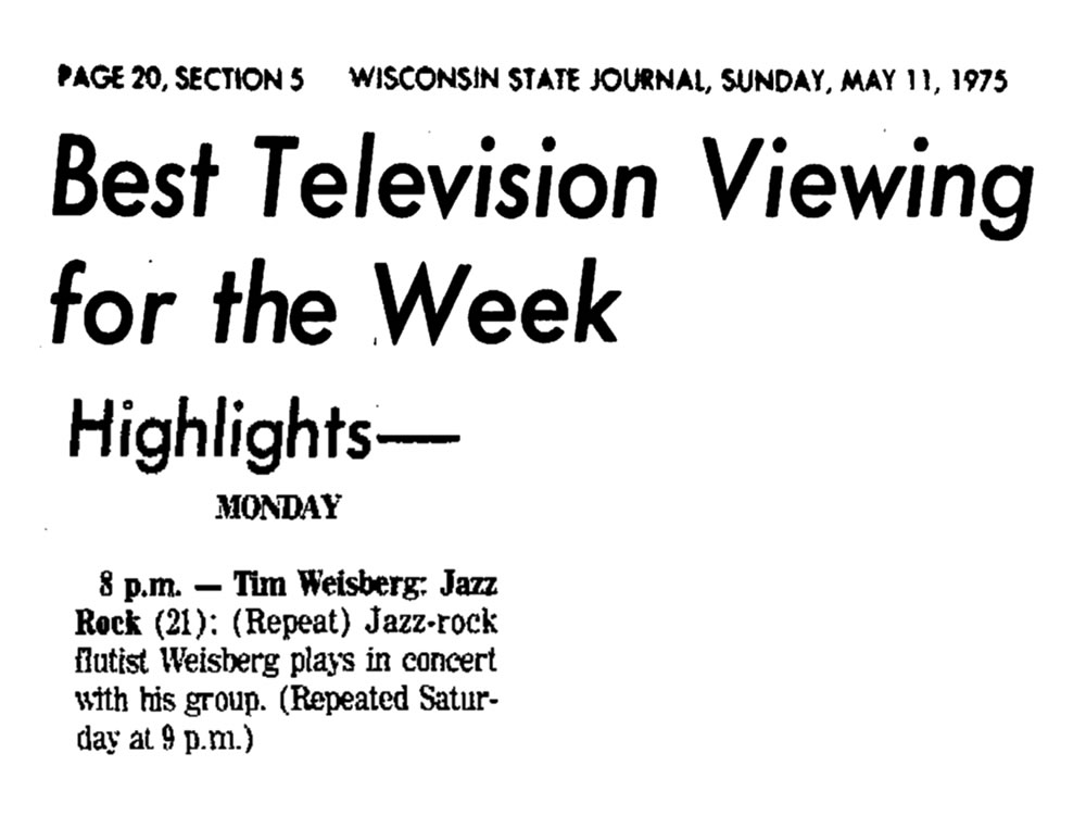 Best Television Viewing 1975