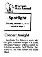 Concert Tonight 1976