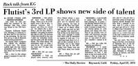 Flutist's 3rd LP 1973