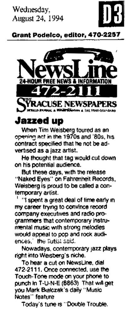 Jazzed Up 1994