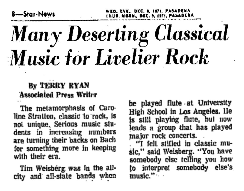 Many Deserting Classical for Rock