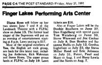 Summer Shows 1991
