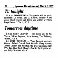 TV Tonight 1975