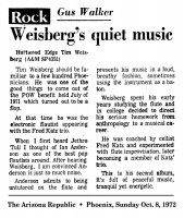 Weisberg's Quiet Music 1973