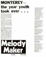 Monterey - the year the youth took over, 1970