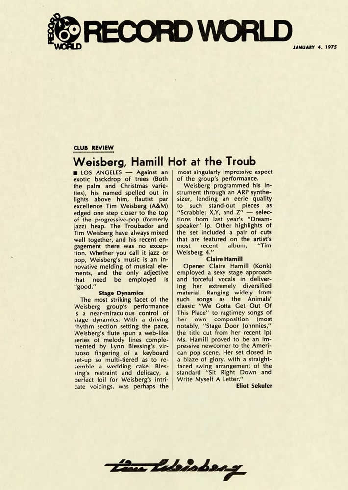 Record World, 1975