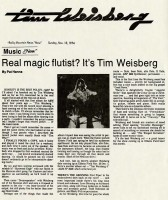 The Real Magic Flutist, 1974